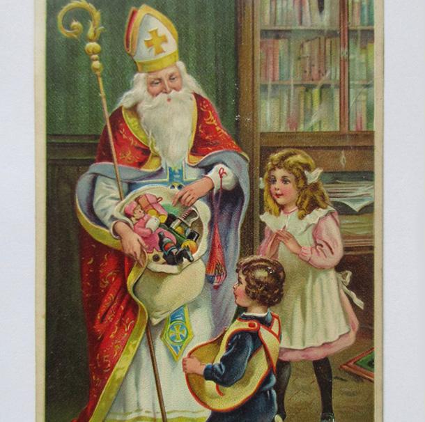 Adventskalender 6 Türchen Nikolaustag Kirche Kleinsassen